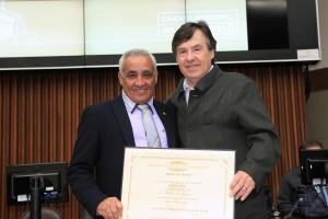 Márcio Almeira e Hiram Firmino